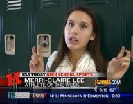 Athlete of the Week: Merri-cLaire Lee