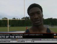 Athlete of the Week: Malik Broughton