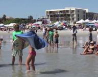 Monday at the 2013 NKF Rich Salick Surf Fest