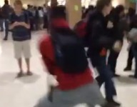 Hallway Crossover goes viral
