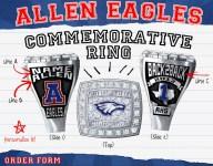 Texas HS football team selling championship rings