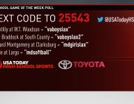 Week 5: Toyota Game of the Week Poll