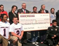 Redskins donate $100,000 to Park View for turf field