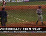 Oak Ridge at Farragut baseball