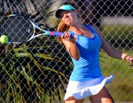 All-Space Coast Girls Tennis: Sidor rules court