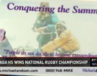 Gonzaga rugby celebrates national championship