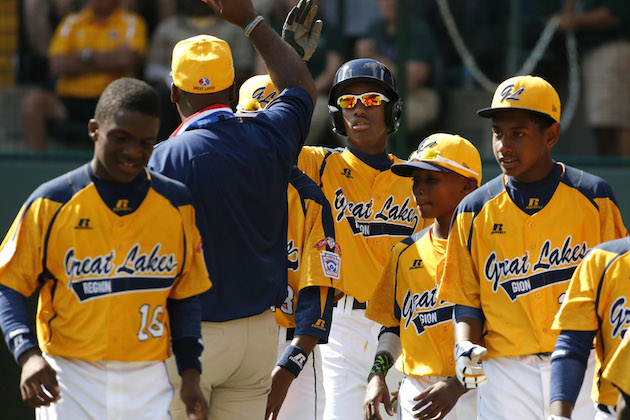 The All-Star squad from Jackie Robinson West Little League on Chicago's South Side earned a better overnight TV rating for their LLWS debut than the Cubs or White Sox have averaged in 2014 —Associated Press