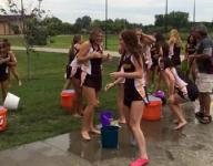 Ankeny runners take ALS Ice Bucket Challenge