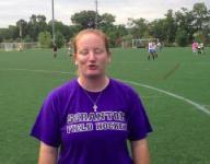 Suffern field hockey coach Gaby Somma