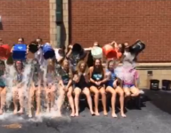 Eagles take ALS Ice Bucket Challenge