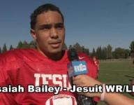 Jesuit WR Isaiah Bailey looking for redemption this season