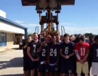 Eau Gallie football team takes the ALS challenge