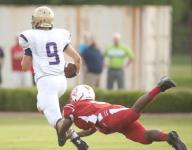 Mattingly's four TD passes lead Male over Butler, 43-7