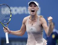 Wozniacki outlasts Sharapova at US Open