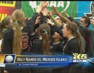 Throwback Thursday: Bellarmine Prep & Mercer Island win state volleyball title