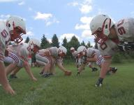 High school football helmets tested for concussion risk