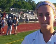 Scarsdale Field Hockey's Eliza Brosgol talks about team's offensive outburst.