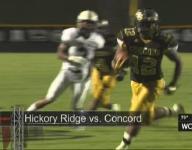 Concord runs by Ragin' Bulls