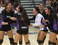 Shadow Hills volleyball perfect against DVL