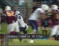 Mallard Creek runs by West Charlotte