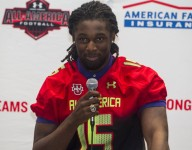 Despite a long rehab road ahead, Josh Sweat gets his Under Armour Jersey