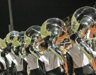 Georgia marching band members spell racial slur during halftime performance