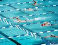 Girls swimming and diving: DeWitt 115, Haslett 68