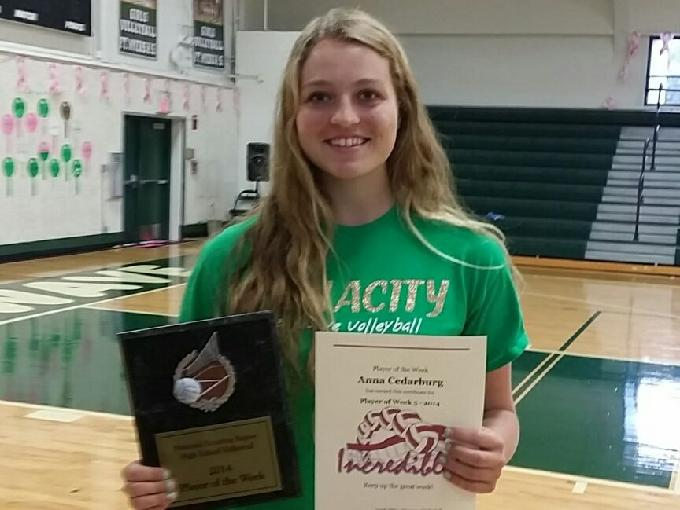 Lakewoods Aubrey OGorman named Volleyball Player of the
