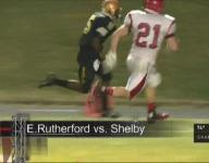 Shelby pounds East Rutherford