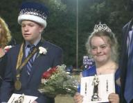Dunwoody High School crowns special homecoming king and queen
