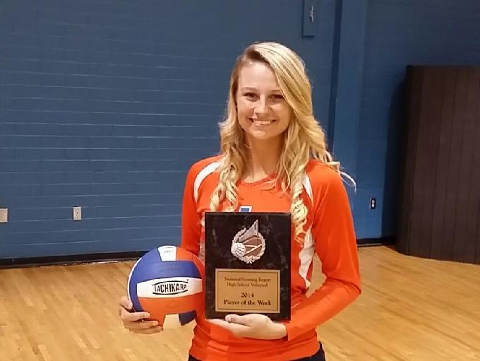 Capes Buss named county volleyball player of week