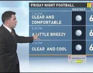 Video | Tonight's high school football weather forecast