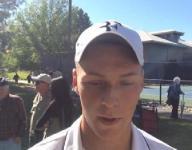 Video: Manogue's Christian Webber wins D-I regional singles title