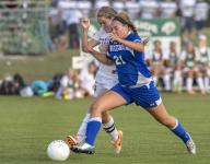 Just Sayin': Leitgeb's injury doesn't slow her role