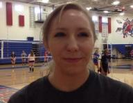 Standing tall: Terry leading Highland volleyball