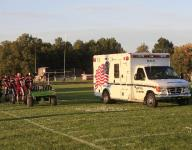 Texas high school senior back on field after small intestine exploded after practice hit