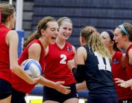 Volleyball: Mason edges DeWitt to share CAAC Red title