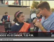 KENS 5 Football Frenzy: Brandeis HS