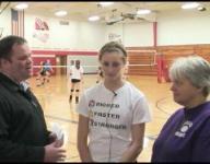 Press Pass: Marathon girls volleyball