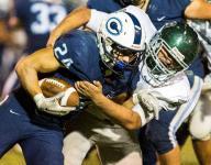 High School Football Notebook: Dinuba's Identity Switch