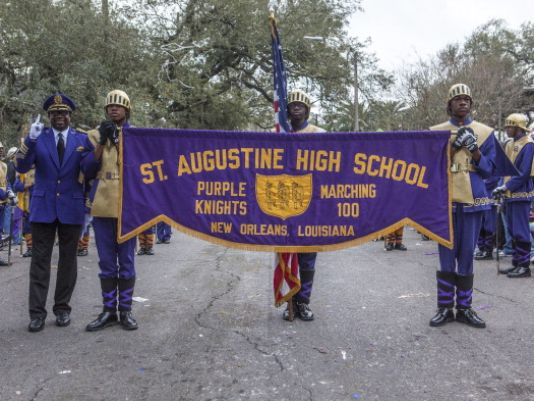 Marching bands keep city spirit alive