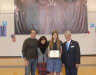 Ann Richards' Sofia Hruby signs with US Naval Academy