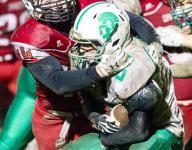 Monroe Central, New Castle football lose