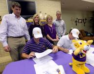 Calvary's Burns, Jeansonne ink with LSU
