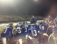 Wrightstown runs out of gas in semis