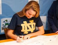 Swimmer Alice Treuth signs with Notre Dame