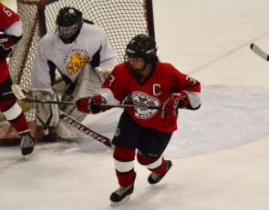Hockey: Mikayla Anderson skates of thin ice