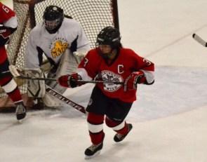 Hockey: Mikayla Anderson skates of thin ice