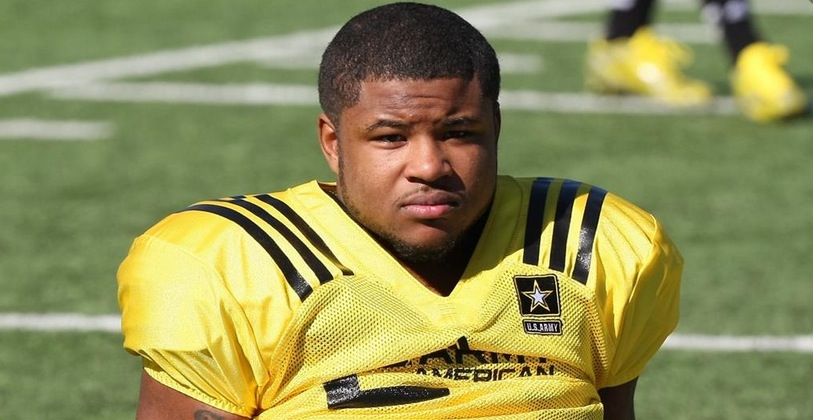 Mike Weber says he isn't revisiting his Ohio State commitment despite the arrival of Jim Harbaugh —247 Sports/Twitter