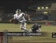 Weddington avenges Cuthbertson on way to finals